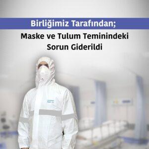 TDB'den Covid-19 Maske Tulum - Haberler